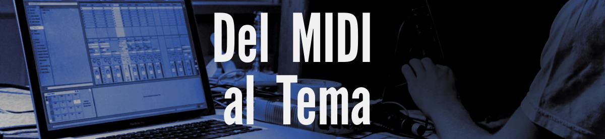 Curso Producción del Midi al Tema