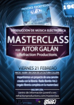 poster-masterclass-radio-bombs-vol-2-refraction-productions-aitor-galan-600