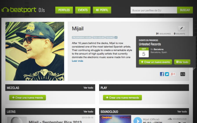 Beatport Dj Profile - Librerias Loops Samples